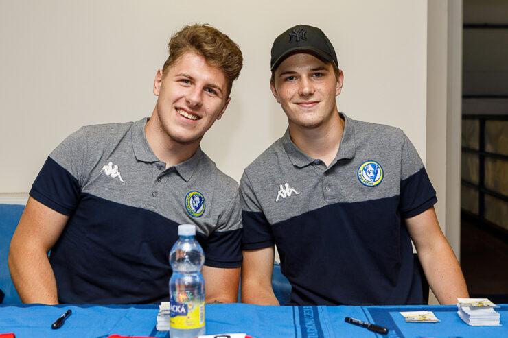 Martin Ryšavý (vlevo) a Stanislav Svozil. Foto: Jan Gebauer